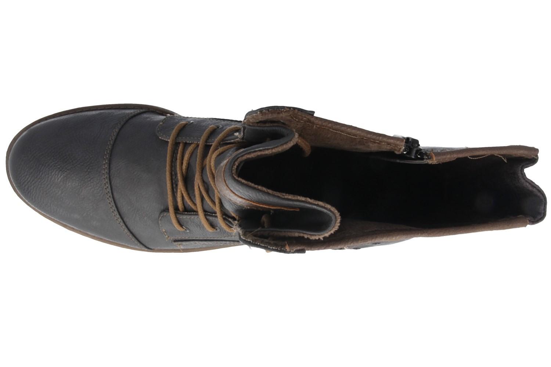 Mustang Shoes Boots in Übergrößen Grau 1157-508-259 große Damenschuhe – Bild 4