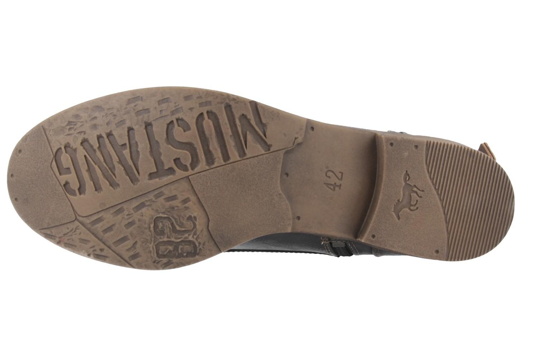 Mustang Shoes Boots in Übergrößen Grau 1157-508-259 große Damenschuhe – Bild 5