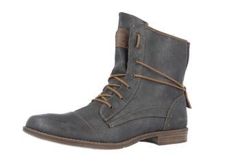 Mustang Shoes Boots in Übergrößen Grau 1157-508-259 große Damenschuhe