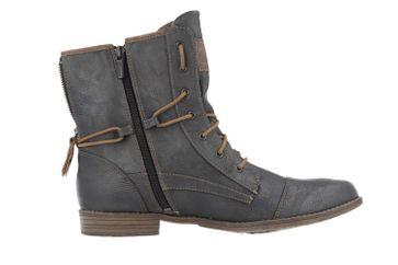 Mustang Shoes Boots in Übergrößen Grau 1157-508-259 große Damenschuhe – Bild 3