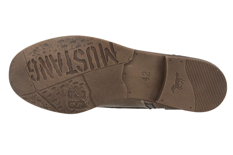 Mustang Shoes Boots in Übergrößen Beige 1157-508-318 große Damenschuhe – Bild 5