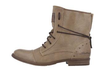 Mustang Shoes Boots in Übergrößen Beige 1157-508-318 große Damenschuhe – Bild 2