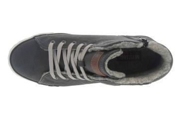 Mustang Shoes High Top Sneaker in Übergrößen Grau 1146-601-259 große Damenschuhe – Bild 7