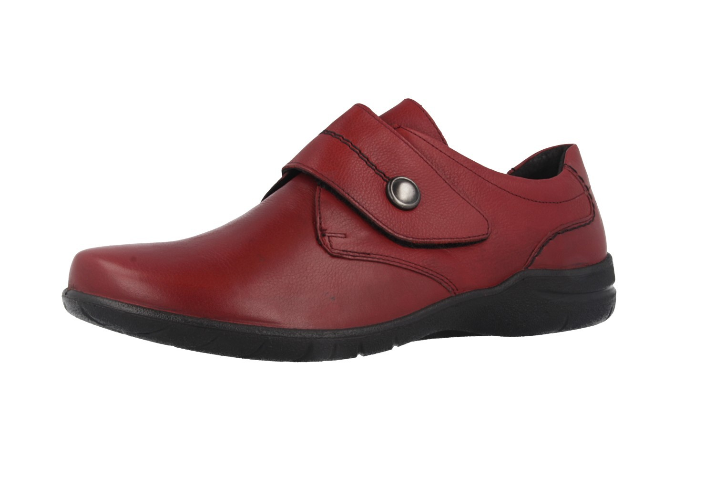 JOSEF SEIBEL - Fabienne 05 - Damen Halbschuhe - Rot Schuhe in Übergrößen – Bild 1