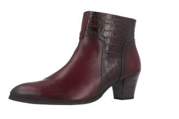 GABOR - Damen Stiefeletten - Rot Schuhe in Übergrößen