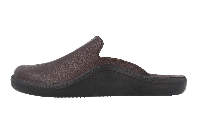ROMIKA - Mokasso 202 G - Herren Hausschuhe - Braun Schuhe in Übergrößen – Bild 2