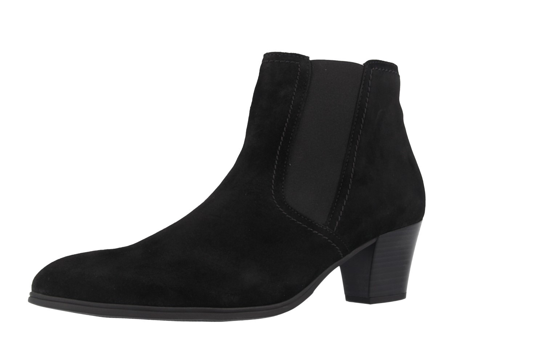 SALE - GABOR - Damen Stiefeletten - Schwarz Schuhe in Übergrößen – Bild 1