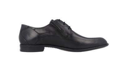 SALE - FRETZ MEN - Umbro - Herren Business Schuhe - Schwarz Schuhe in Übergrößen – Bild 3