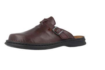 JOSEF SEIBEL - Madrid - Herren Hausschuhe - Bordeauxrot Schuhe in Übergrößen – Bild 1