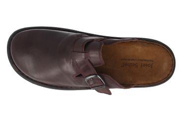 JOSEF SEIBEL - Madrid - Herren Hausschuhe - Bordeauxrot Schuhe in Übergrößen – Bild 4