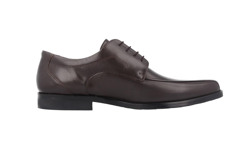 SALE - MANZ - Fermo - Herren Business Schuhe - Braun Schuhe in Übergrößen – Bild 3