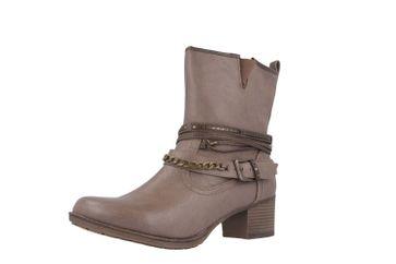 Mustang Shoes Stiefeletten in Übergrößen Braun 1197-504-308 große Damenschuhe