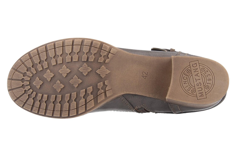 SALE - MUSTANG - Damen Stiefeletten - Grau Schuhe in Übergrößen – Bild 5