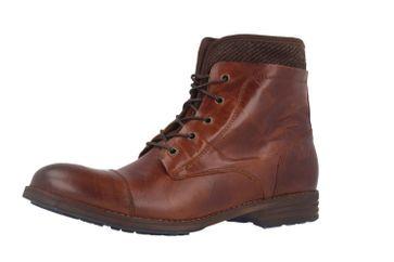 Mustang Shoes Boots in Übergrößen Braun 2853-601-301 große Damenschuhe