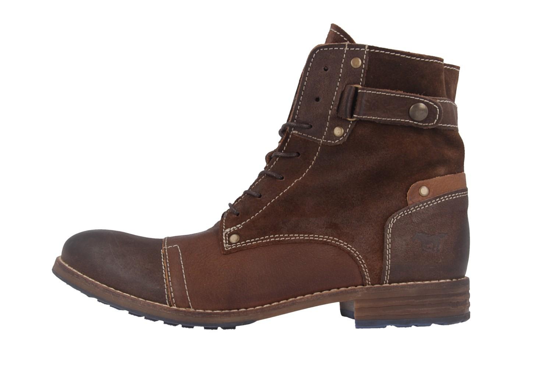 Mustang Shoes Boots in Übergrößen Braun 2853-602-3 große Damenschuhe – Bild 2