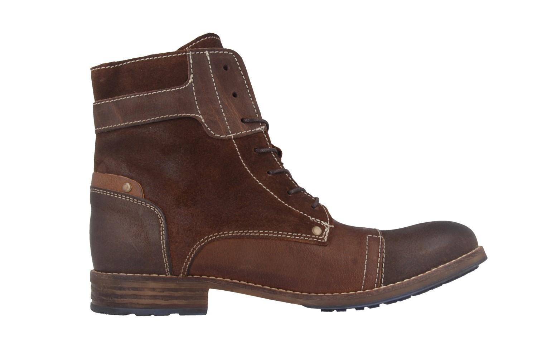 Mustang Shoes Boots in Übergrößen Braun 2853-602-3 große Damenschuhe – Bild 3