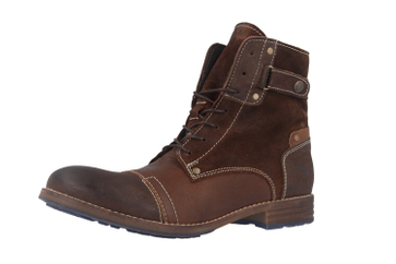 Mustang Shoes Boots in Übergrößen Braun 2853-602-3 große Damenschuhe