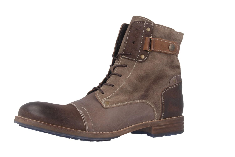 Mustang Shoes Boots in Übergrößen Grau 2853-602-306 große Damenschuhe – Bild 1