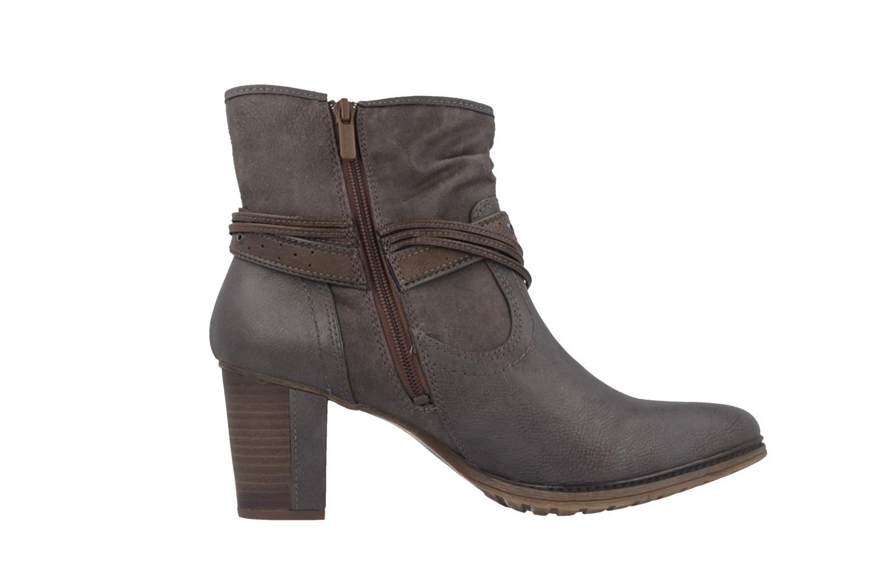 Mustang Shoes Stiefeletten in Übergrößen Grau 1199-501-20 große Damenschuhe – Bild 3