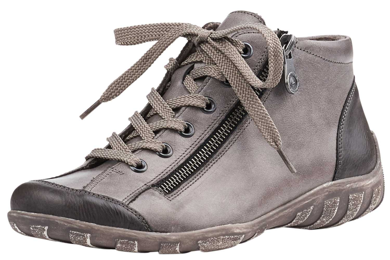 Remonte Stiefel in Übergrößen Grau R3475-01 große Damenschuhe – Bild 1