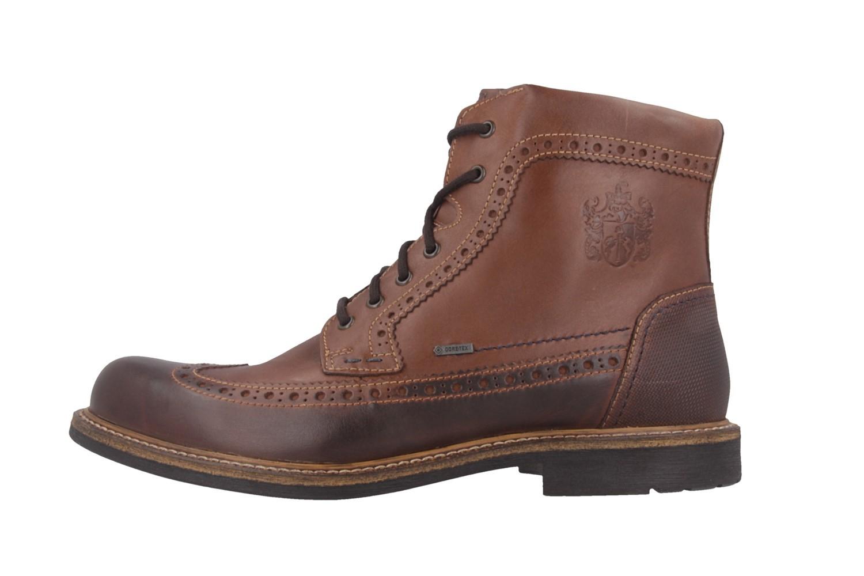 SALE - FRETZ MEN - Belfort - Herren Boots - Braun Schuhe in Übergrößen – Bild 2