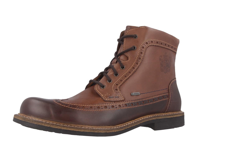 SALE - FRETZ MEN - Belfort - Herren Boots - Braun Schuhe in Übergrößen – Bild 1