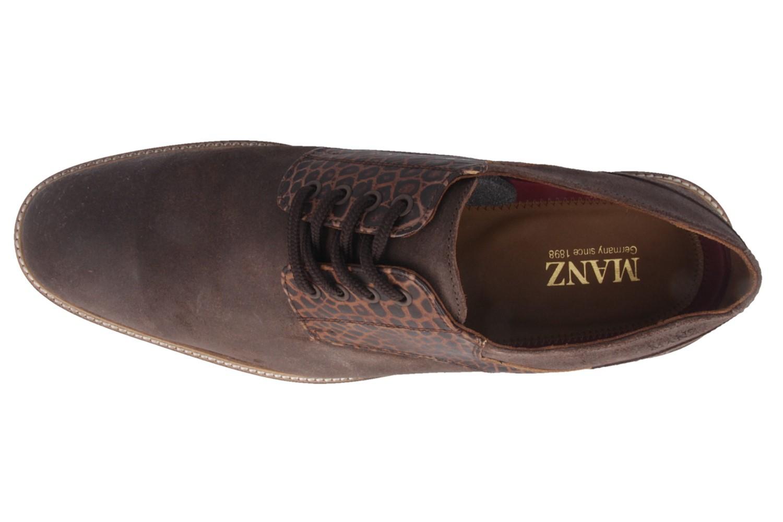 SALE - MANZ - 141003-02-187 Terni AGO - Herren Business Schuhe - Braun Schuhe in Übergrößen – Bild 4