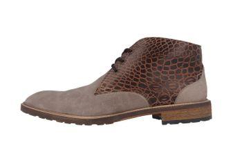 SALE - MANZ - Terni - Herren Boots - Grau Schuhe in Übergrößen – Bild 2