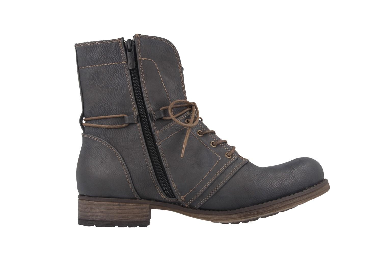 Mustang Shoes Stiefeletten in Übergrößen Grau 1139-610-259 große Damenschuhe – Bild 3
