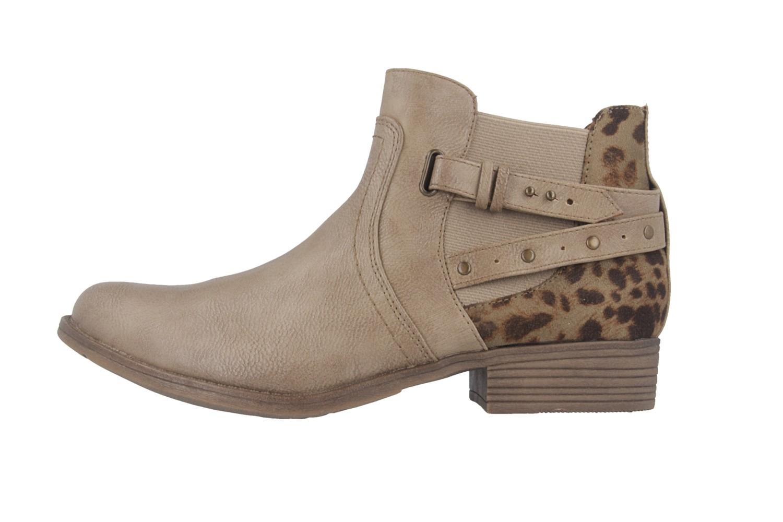 Mustang Shoes Stiefeletten in Übergrößen Braun 1167-510-318 große Damenschuhe – Bild 2