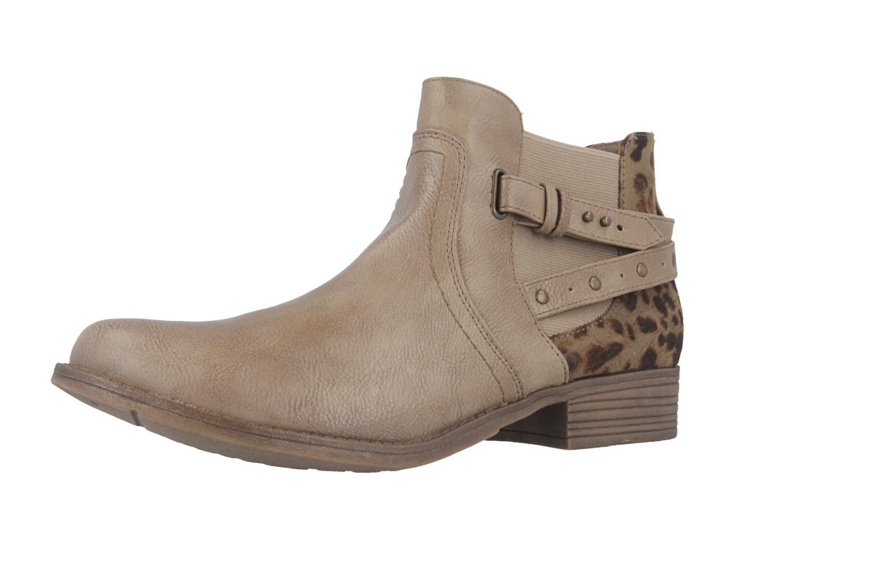 Mustang Shoes Stiefeletten in Übergrößen Braun 1167-510-318 große Damenschuhe – Bild 1