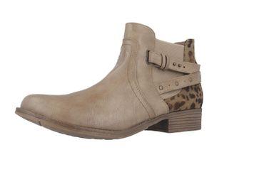 Mustang Shoes Stiefeletten in Übergrößen Braun 1167-510-318 große Damenschuhe