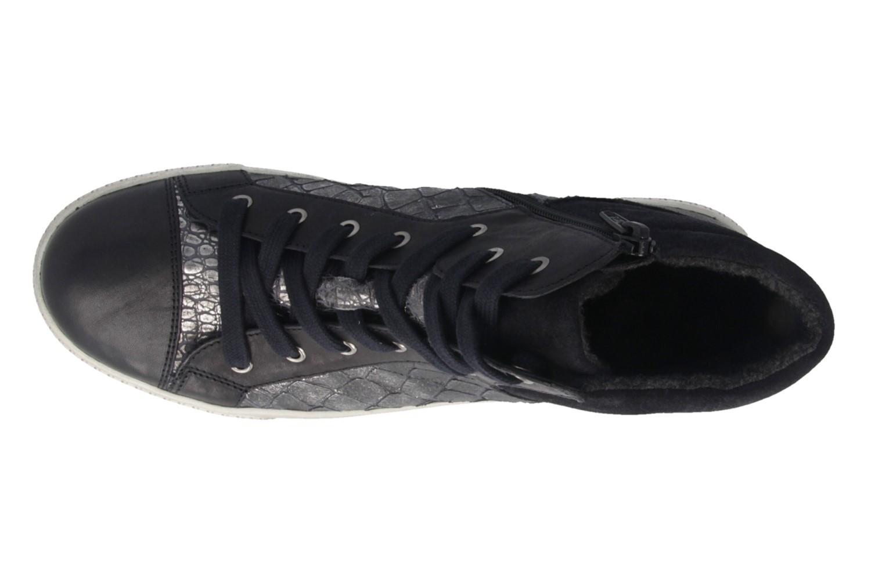 SALE - GABOR - Damen High Top Sneaker - Blau Schuhe in Übergrößen – Bild 4