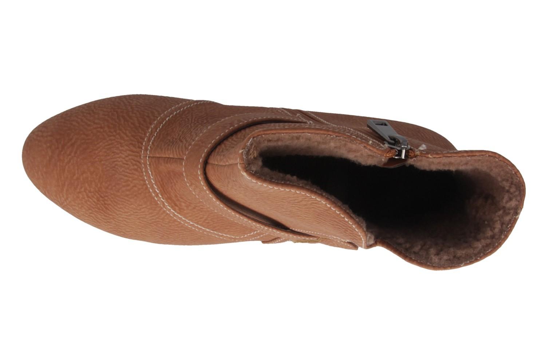 Andres Machado Stiefeletten in Übergrößen Braun AM4053 Pull Camel große Damenschuhe – Bild 4