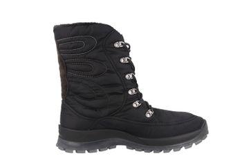 SALE - ROMIKA - Alaska 122 - Wetterfeste Damen Stiefel - Schwarz Schuhe in Übergrößen – Bild 2