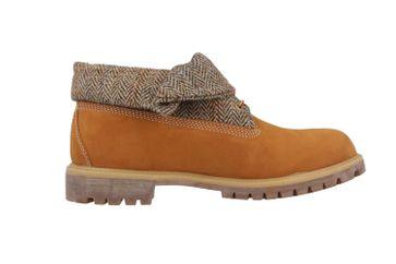 SALE - TIMBERLAND - Roll Top F/F AF - Herren Boots - Braun Schuhe in Übergrößen – Bild 4