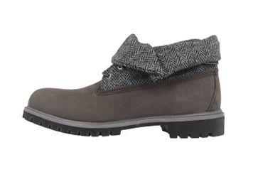 SALE - TIMBERLAND - Roll Top F/F AF - Herren Boots - Grau Schuhe in Übergrößen – Bild 3