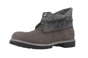 SALE - TIMBERLAND - Roll Top F/F AF - Herren Boots - Grau Schuhe in Übergrößen – Bild 7