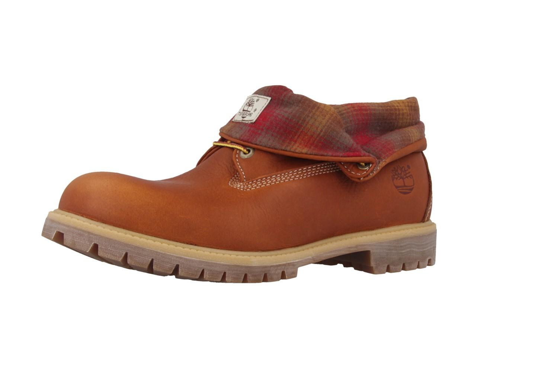 SALE - TIMBERLAND - AF Roll Top FG - Herren Boots - Braun Schuhe in Übergrößen – Bild 2