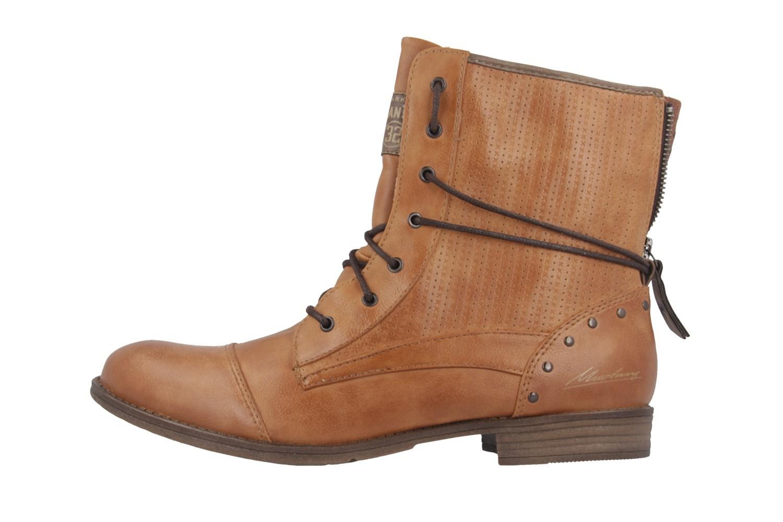 Mustang Shoes Boots in Übergrößen Braun 1157-503-307 große Damenschuhe – Bild 2