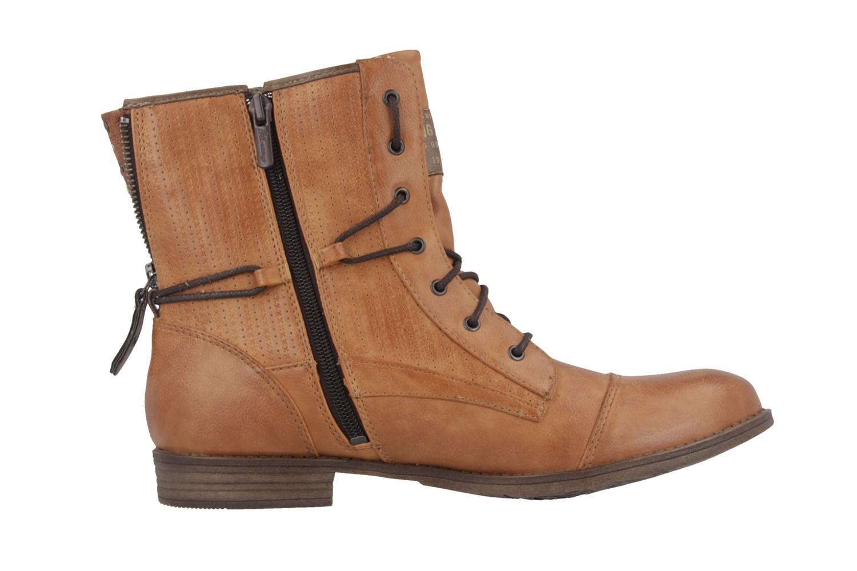 Mustang Shoes Boots in Übergrößen Braun 1157-503-307 große Damenschuhe – Bild 3