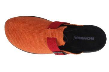ROMIKA - Ibiza Home 314 - Damen Hausschuhe - Orange Schuhe in Übergrößen – Bild 4