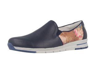 ROMIKA - Tabea 17 - Damen Slipper - Blau Schuhe in Übergrößen – Bild 1