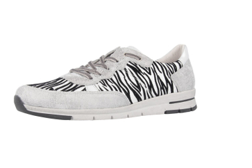 ROMIKA - Tabea 15 - Damen Halbschuhe - Silber Schuhe in Übergrößen