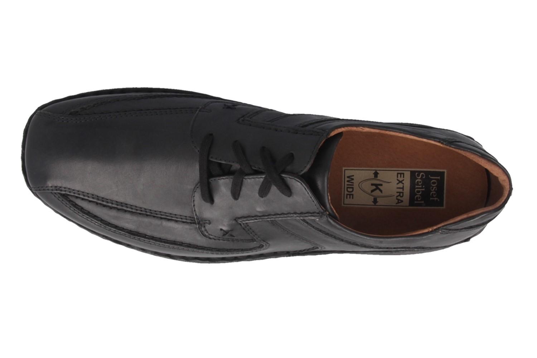 JOSEF SEIBEL - Anvers 08 - Herren Halbschuhe - Schwarz Schuhe in Übergrößen – Bild 4