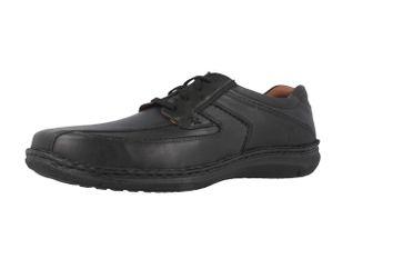 JOSEF SEIBEL - Anvers 08 - Herren Halbschuhe - Schwarz Schuhe in Übergrößen