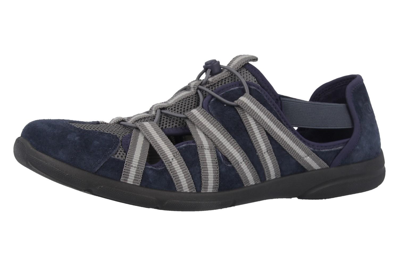 ROMIKA - Traveler 01 - Damen Halbschuhe - Blau Schuhe in Übergrößen – Bild 1