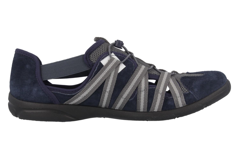 ROMIKA - Traveler 01 - Damen Halbschuhe - Blau Schuhe in Übergrößen – Bild 3