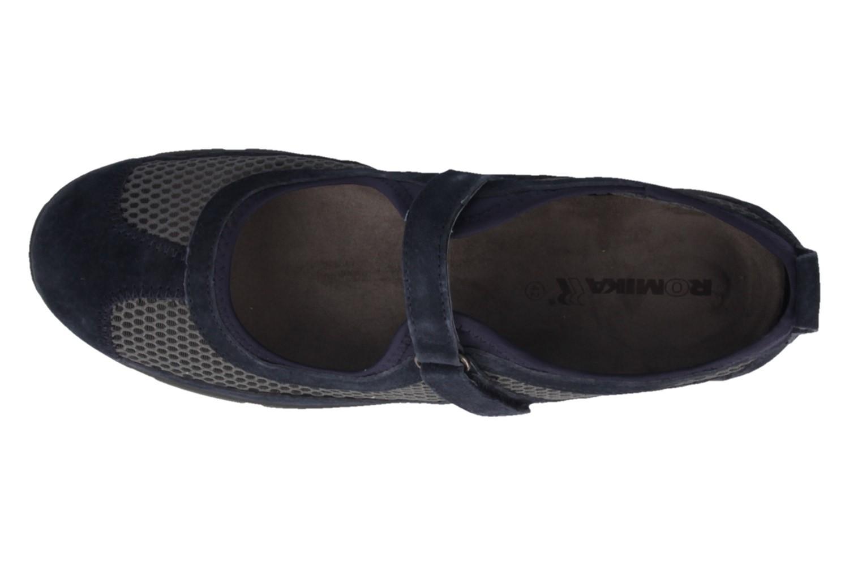 ROMIKA - Traveler 02 - Damen Halbschuhe - Blau Schuhe in Übergrößen – Bild 4