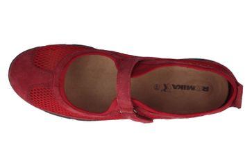 ROMIKA - Damen Halbschuhe - Traveler 02 - Rot Schuhe in Übergrößen – Bild 4